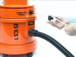 How To Dry Out Wet Carpet by Convert Vax 6131 Dry Vacuum Cleaner To Wet Washer Youtube