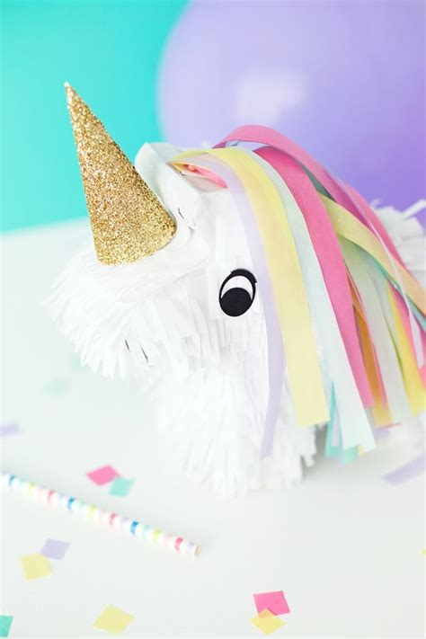 unicorn pinata bright  pretty pinterest minis
