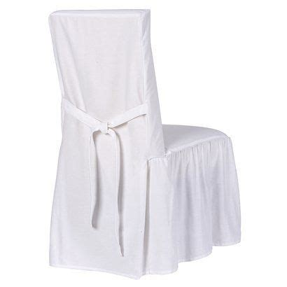 shabby chic dining chair slipcovers simply shabby chic cotton duck dining saw these in a