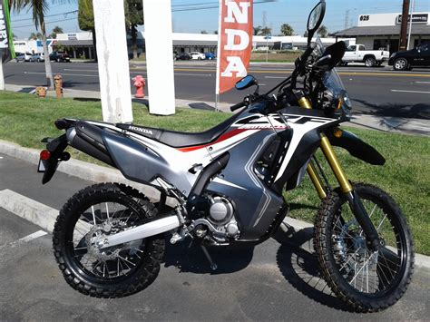 Honda Crf250rally Image by New 2018 Honda Crf250l Rally Abs Motorcycles In Orange Ca