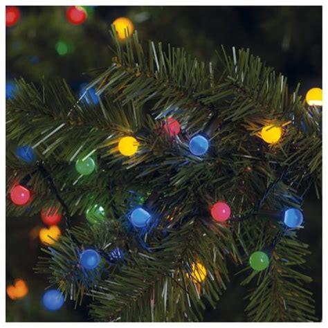 buy tesco 100 led multi coloured berry lights from our all