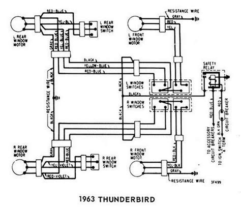 Windows Wiring Diagram For Ford Thunderbird All
