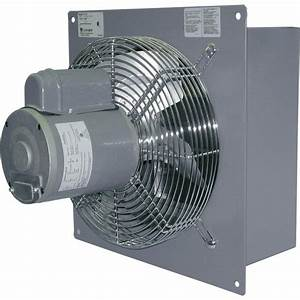 Canarm Wall Exhaust Fan  U2014 12in   Variable Speed  1  3 Hp