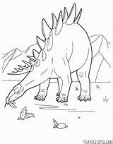 Stegosaurus Coloring Colorare Ittiosauro Colorear Malvorlagen Disegni Elasmosaurus Kolorowanka Coloriage Dibujo Dinosauri Colorkid Dinosaurs Pterodactyl Pteranodon Dinosaurier Stampare Dinozaur Coloringnori sketch template