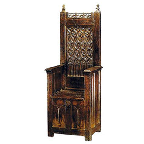 chaise du moyen age