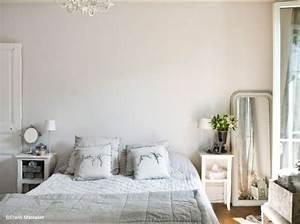chambre romantique bleu gris cocoon http wwwmaison With decoration chambre adulte romantique