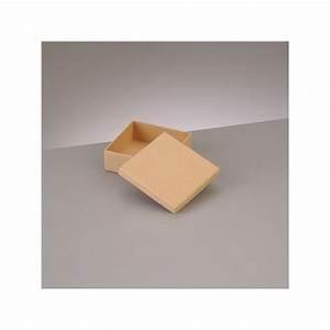 Petite Boite En Carton : petite boite plate carr e avec couvercle en carton 8 5 x 8 5 x h 3 1 cm supports en carton ~ Teatrodelosmanantiales.com Idées de Décoration
