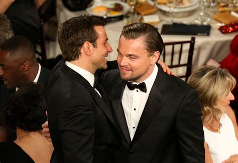 Bradley Cooper And Leonardo Dicaprio Hugged It Out For The