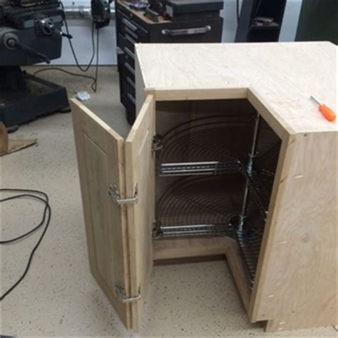 Salice® Face Frame Self Closing Pie Corner Cabinet Hinge