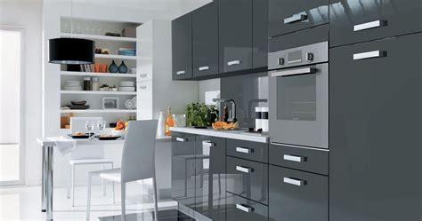 cuisine 233 quip 233 e grise cuisine en image