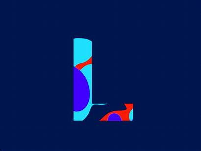 Letter Graphic Luckk Animated Gifs Animation Creative