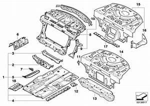 Bmw M6 Reinforcement  Engine Support  Top Left  Body - 41127111203