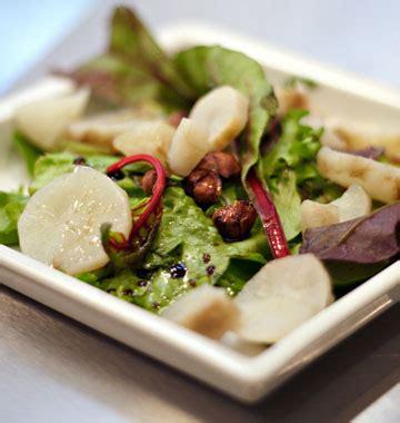 cuisiner les topinambours marmiton salade de topinambours vinaigrette à la noisette les meilleures recettes de cuisine d 39 ôdélices