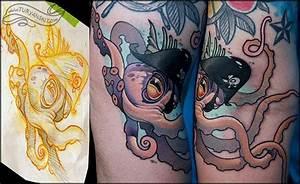Octopus by Oleg Turyanskiy : Tattoos