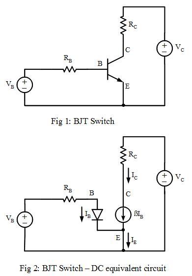 Bipolar Junction Transistor Bjt Switch Analog