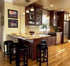 Kitchen Peninsula Ideas Home Design Ideas Kitchen