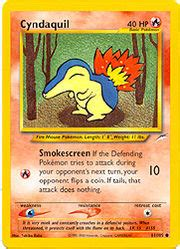 We did not find results for: Cyndaquil (Neo Destiny 61) - Bulbapedia, the community-driven Pokémon encyclopedia