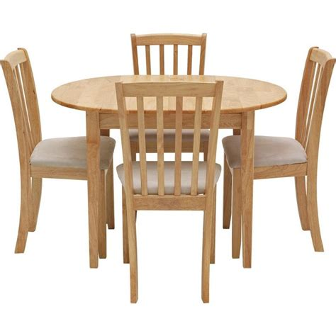 buy collection banbury ext solid wood table  chairs cream  argoscouk   shop