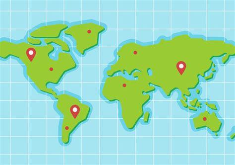 Carte Du Monde Gratuite Vectorielle by T 233 L 233 Chargement Du Vecteur Gratuit Monde Libre Carte