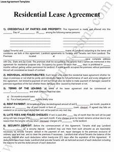 rental lease agreement templates free real estate forms With renters lease agreement template free