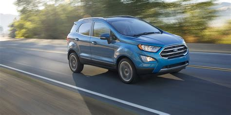 New Ford Suv 2018 by 2018 Ford Ecosport Facelift Escapes La New Look Compact