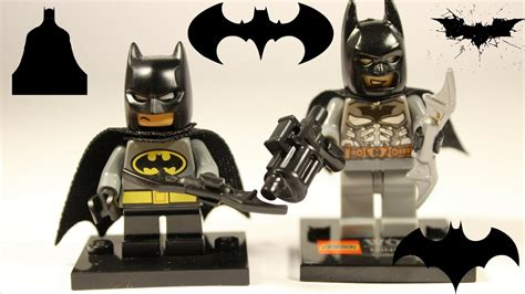 Lego Fake Vs Real  Batman Minifigure Youtube