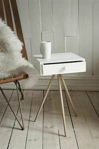 Beistelltisch Weiß Mit Schublade : skandinavische m bel und einrichtungsideen im minimalistischen stil ~ Bigdaddyawards.com Haus und Dekorationen
