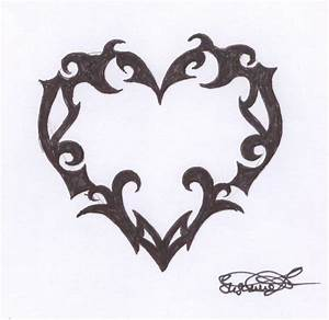 Gothic Heart Tattoo | www.imgkid.com - The Image Kid Has It!