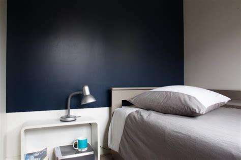 simulateur peinture chambre tête de lit bleu nuit galerie photo peinture tollens