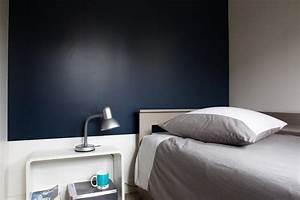 Tete de lit bleu nuit galerie photo peinture tollens for Ordinary deco entree de maison 19 tete de lit bleu nuit galerie photo peinture tollens