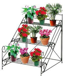 Plant Etagere Outdoor by 3 Tier Garden Plant Pot Display Etagere Stand Flower Patio