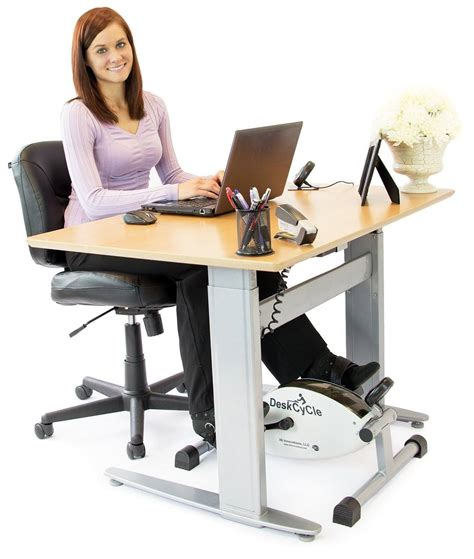 laptop workout desk and recumbent bike deskcycle desk exercise bike stay active at work