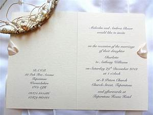 ivory wedding invite roundhand font in grey With wedding invitations to buy uk
