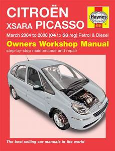Haynes Workshop Car Repair Manual Citro U00ebn Xsara Picasso Petrol  U0026  4784    Fastcar Wholesale