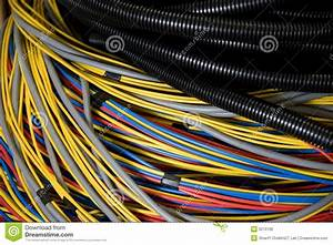 Electrical Wires Stock Photo  Image Of Voltage  Cords
