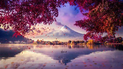 1920x1080 Mount Fuji Mesmerising View 4k Laptop Full HD