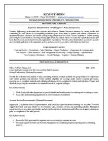 human resources specialist resume human resources specialist resume