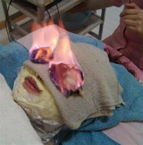 perfect skin   burn unit face mask
