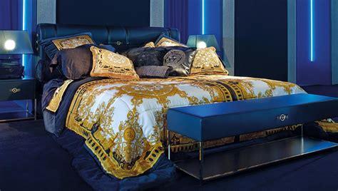 versace furniture signature silk bedcover buy