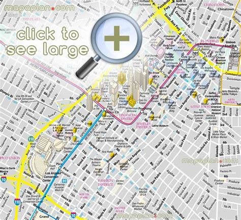 Downtown Los Angeles Jewelry District Map - Style Guru