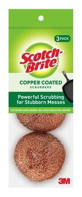 scotch brite copper coated scrubbing pad