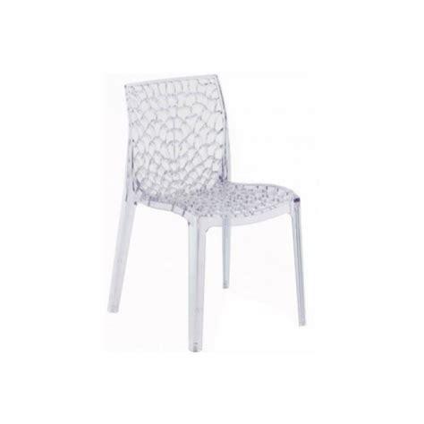 lot de cuisine pas cher lot de 2 chaises empilables gruvyer transparentes achat vente chaise polycarbonate cdiscount
