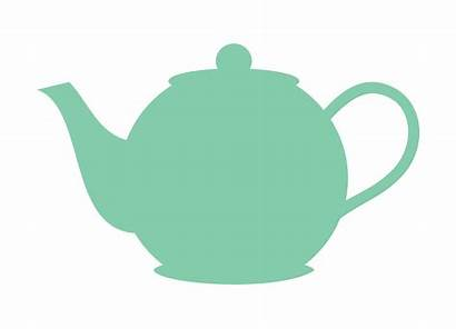Clipart Teapot Tea Clip Pot Kitchen Clipartmag