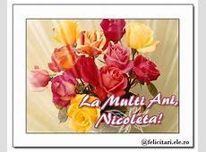 La Multi Ani, Nicoleta! Sfantul Nicolae Felicitari