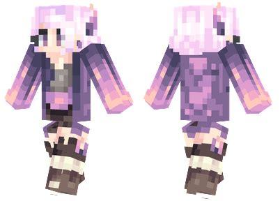 lavender minecraft skins