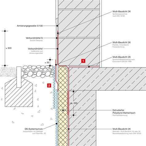 horizontale abdichtung mauerwerk abdichtung sockelbereich selbst de diy forum