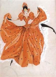 1000 images about french cancan on pinterest halloween With robe rouge orangée