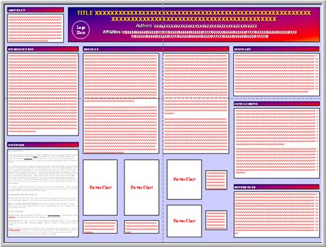 Company Powerpoint Template Design Johnson And Johnson by Posters4research Free Templates