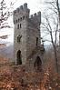 Ruins of Karlsburg Castle c. 1563, near Stromberg, Germany ...