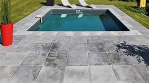 Margelle Piscine Grise : margelle piscine votre nouveau cadre de vie ~ Melissatoandfro.com Idées de Décoration